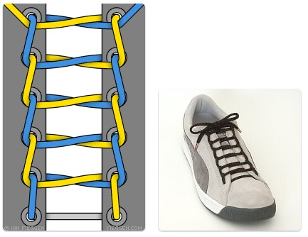 ladder-lacing